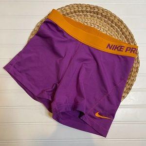 Nike Pro Womens Dri- Fit Shorts 3 inch